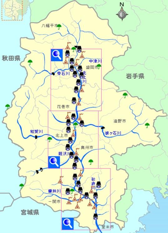 北上川 ライブカメラ情報