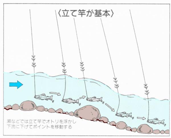 背バリ 釣り方