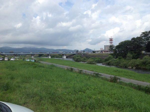 磐井川 アユ釣り 一関