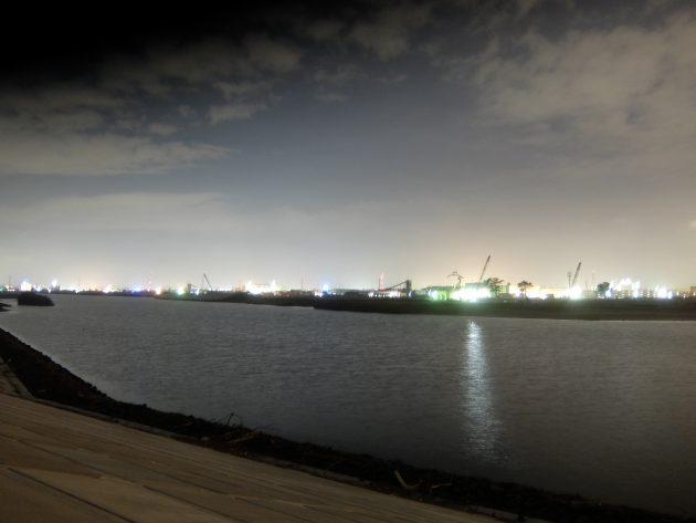 七北田川 夜景