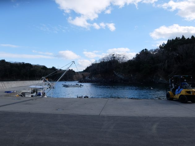 南三陸 藤浜漁港