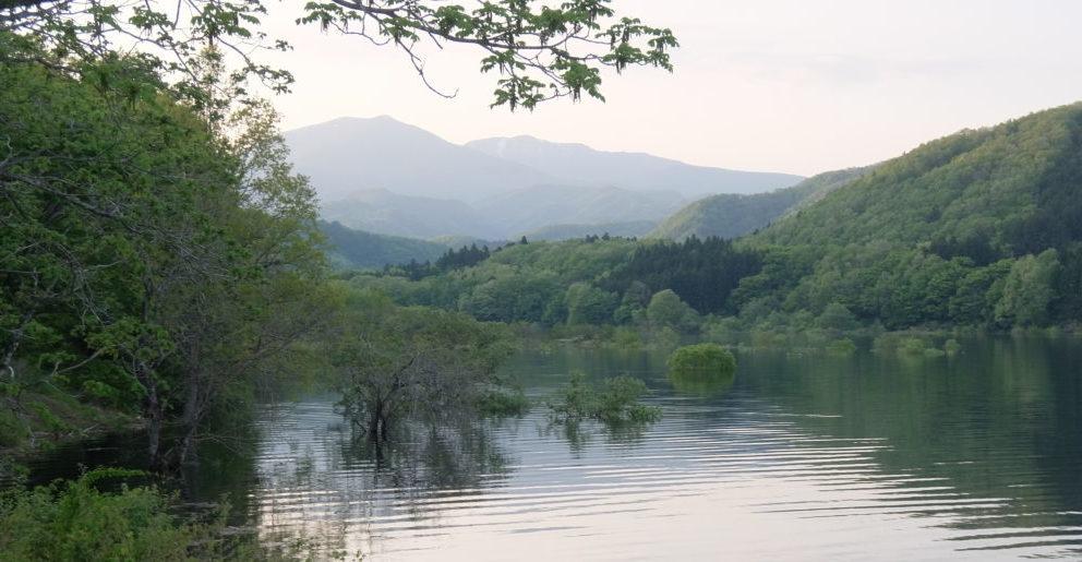 湖 流れ込み