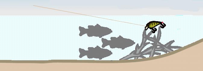 魚 ストラクチャー 根がかり