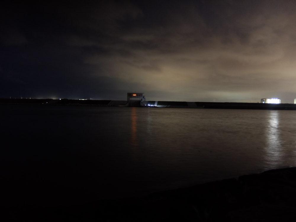 閖上 名取川 夜景