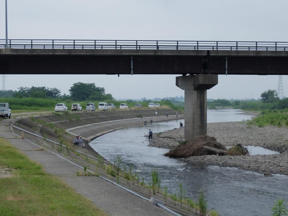 鳴瀬川 小野田橋