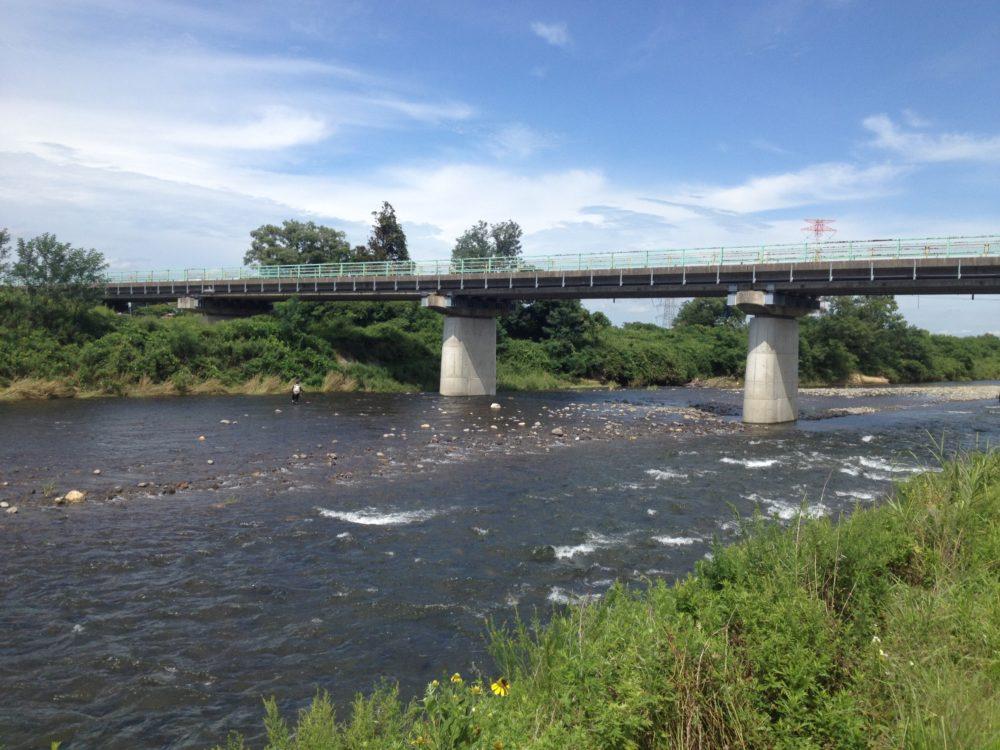 鳴瀬川 旭橋