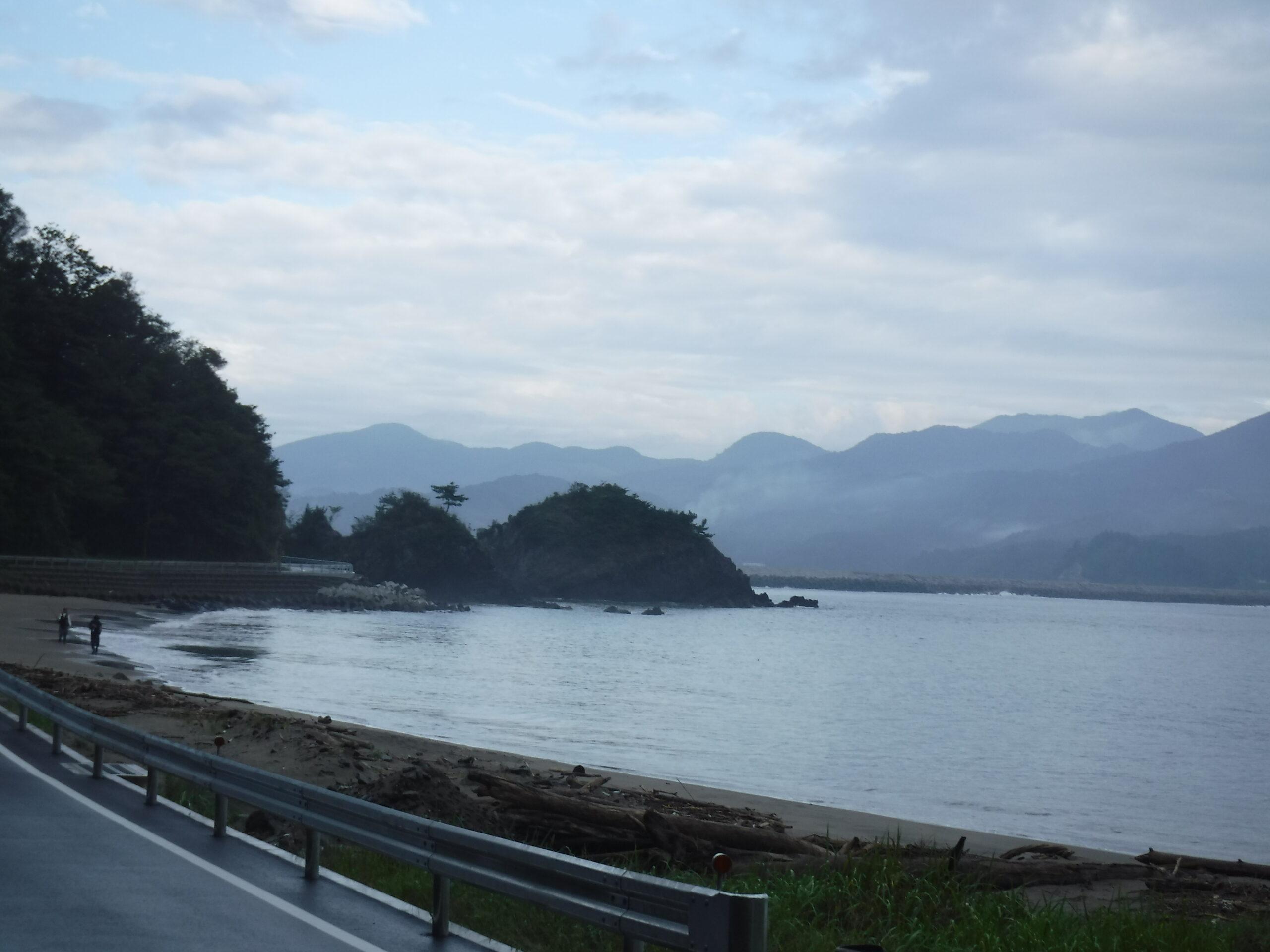 追波川河口右側  長面新漁港  マゴチ・ヒラメ釣り